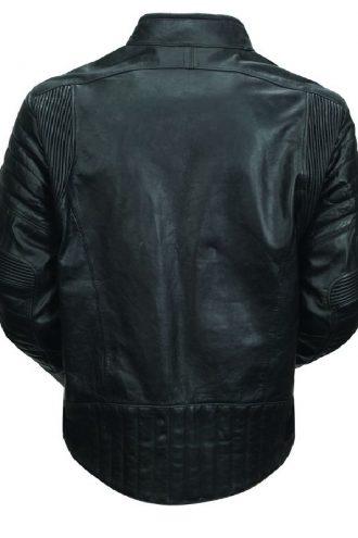 Men Sport Motorcycle Leather Jacket