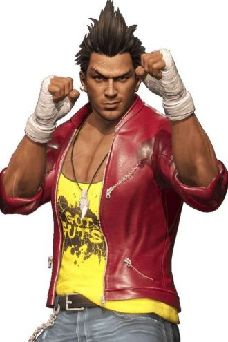 Dead Or Alive 6 Diego Costume Jacket