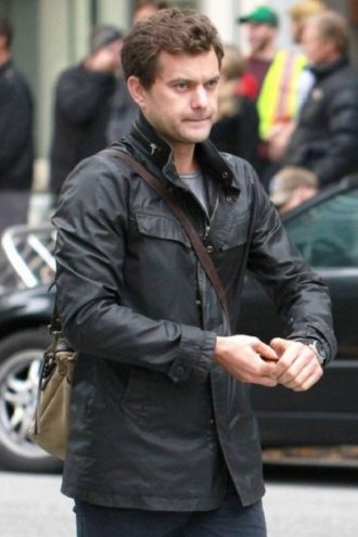 Fringe Season 5 Peter Bishop Black Leather Jacket