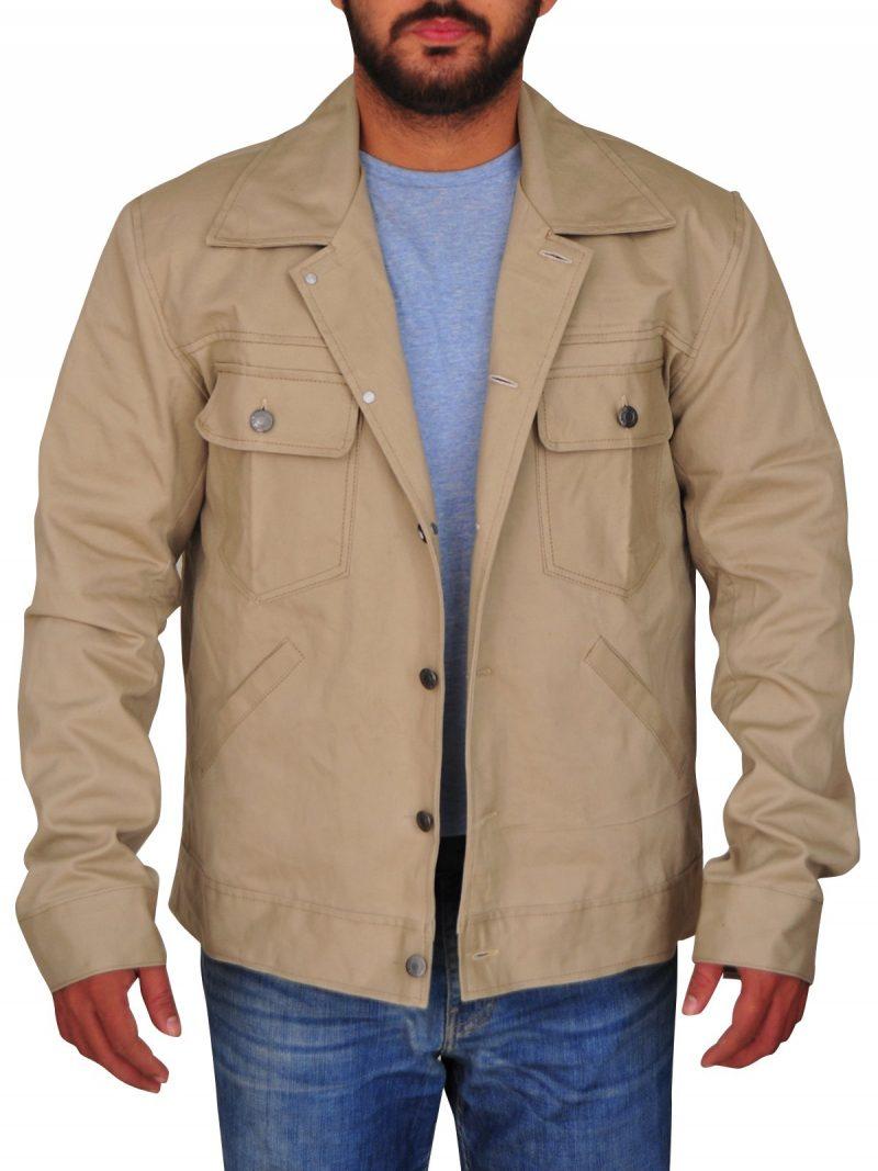 Bradley Cooper A Star Is Born Khaki Jacket