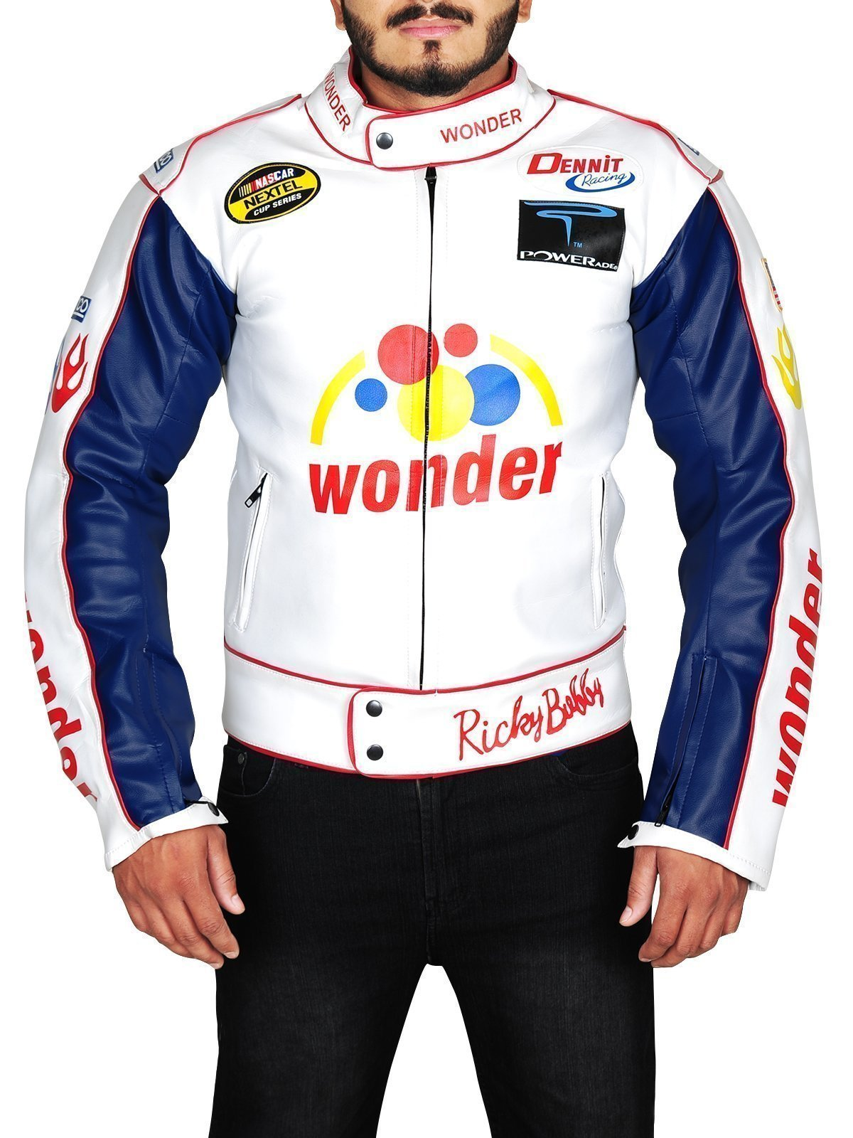 Ricky Bobby Talladega Nights Wonder Bread Jacket Top Celebs Jackets