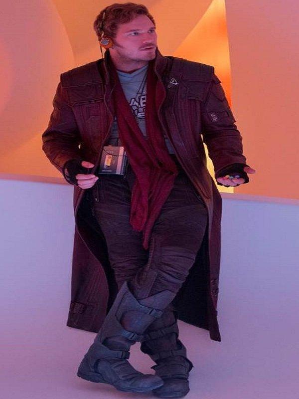 Peter Quill Galaxy 2 Coat