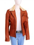 Amelia Earhart Night At The Museum 2 Brown Jacket