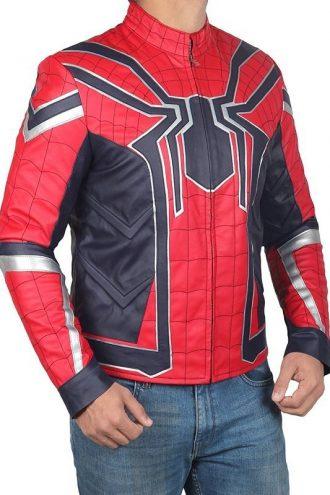 Spiderman Armor Avengers Infinity War Jacket