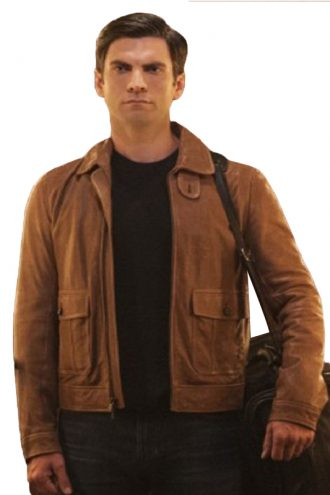 American-Horror-Story-John-Lowe-Brown-Jacket.