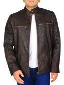 Captain America Civil War Brown Jacket
