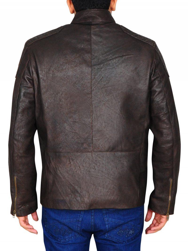 Captain America Civil War Chris Evans Leather Jacket