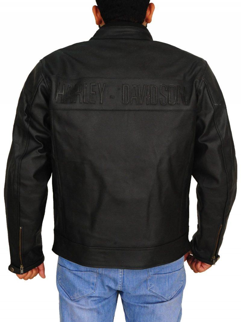 David Michael Bautista Jr Biker Leather Jacket