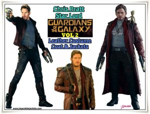 Chris Pratt Galaxy Vol 2 Jackets & Coats