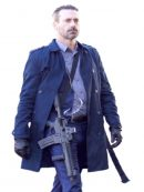 Buddy Baby Driver Jon Hamm Trench Coat