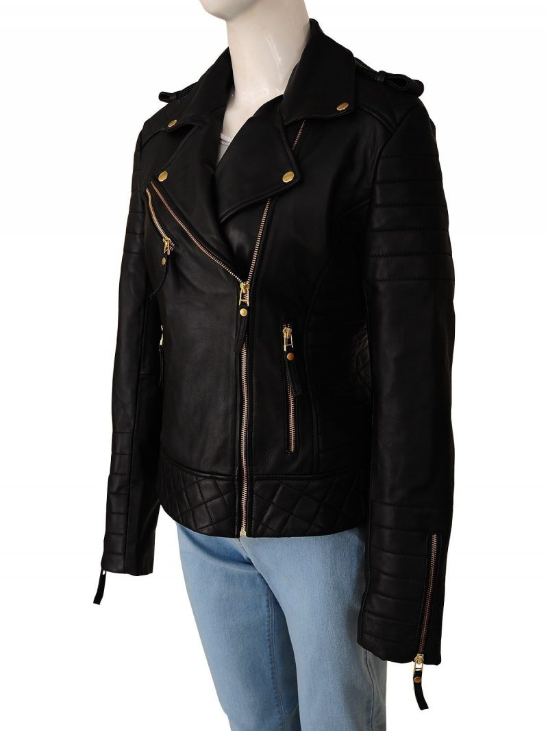 Kay Michaels Brando Biker Jacket