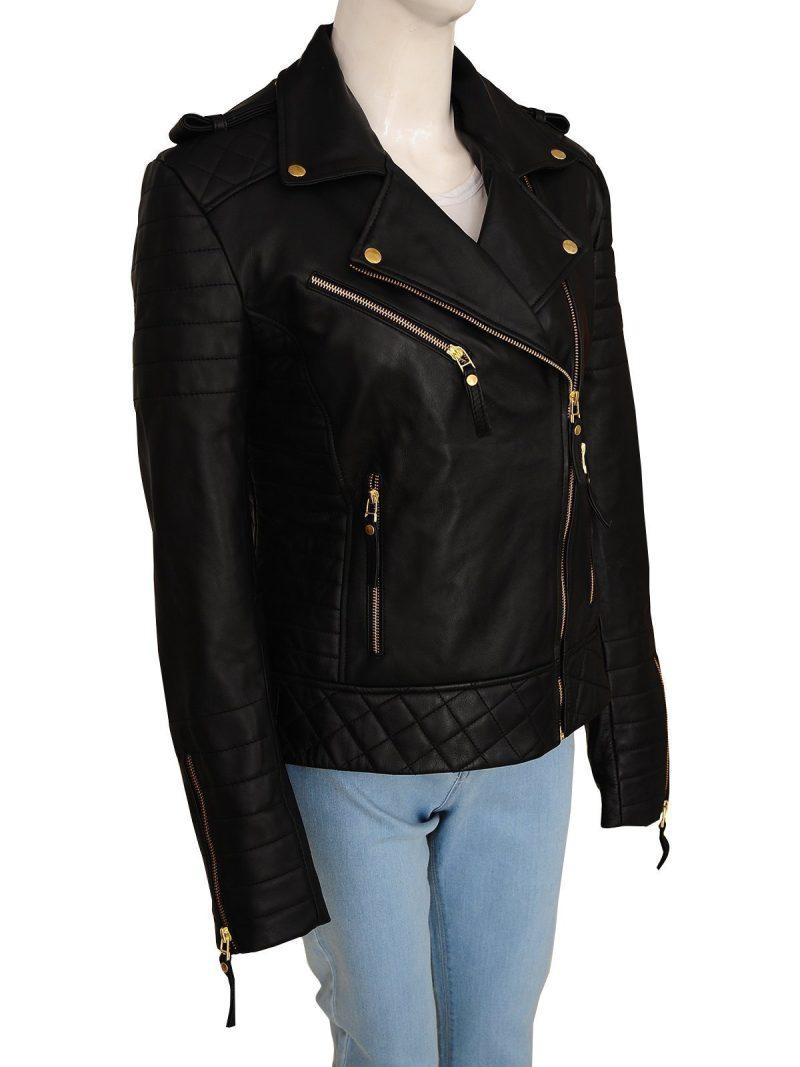 Kay Michaels Stylish Leather Jacket