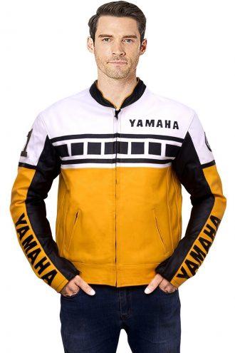 Yamaha Bike riding jacket, Yellow Black Biker