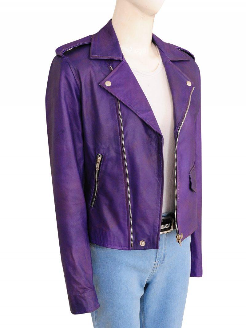 Oceans 8 Anne Hathaway Biker Jacket
