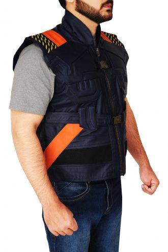 Michael B. Jordan Black Panther Costume Vest