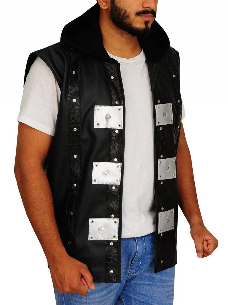 TNA AJ Styles Black Hooded Jacket