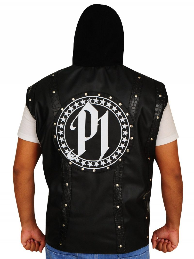 TNA AJ Styles Phenomenal Leather Vest