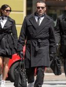 Jon Hamm Baby Driver Stylish Coat