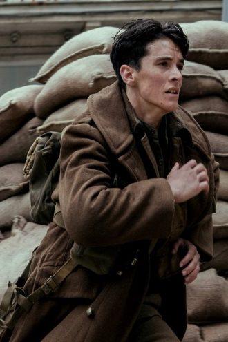 Fionn Whitehead Dunkirk Brown Coat