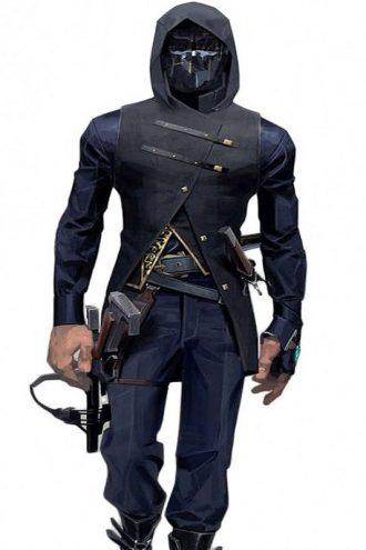 Corvo Attano Dishonored 2 Hoodie Vest
