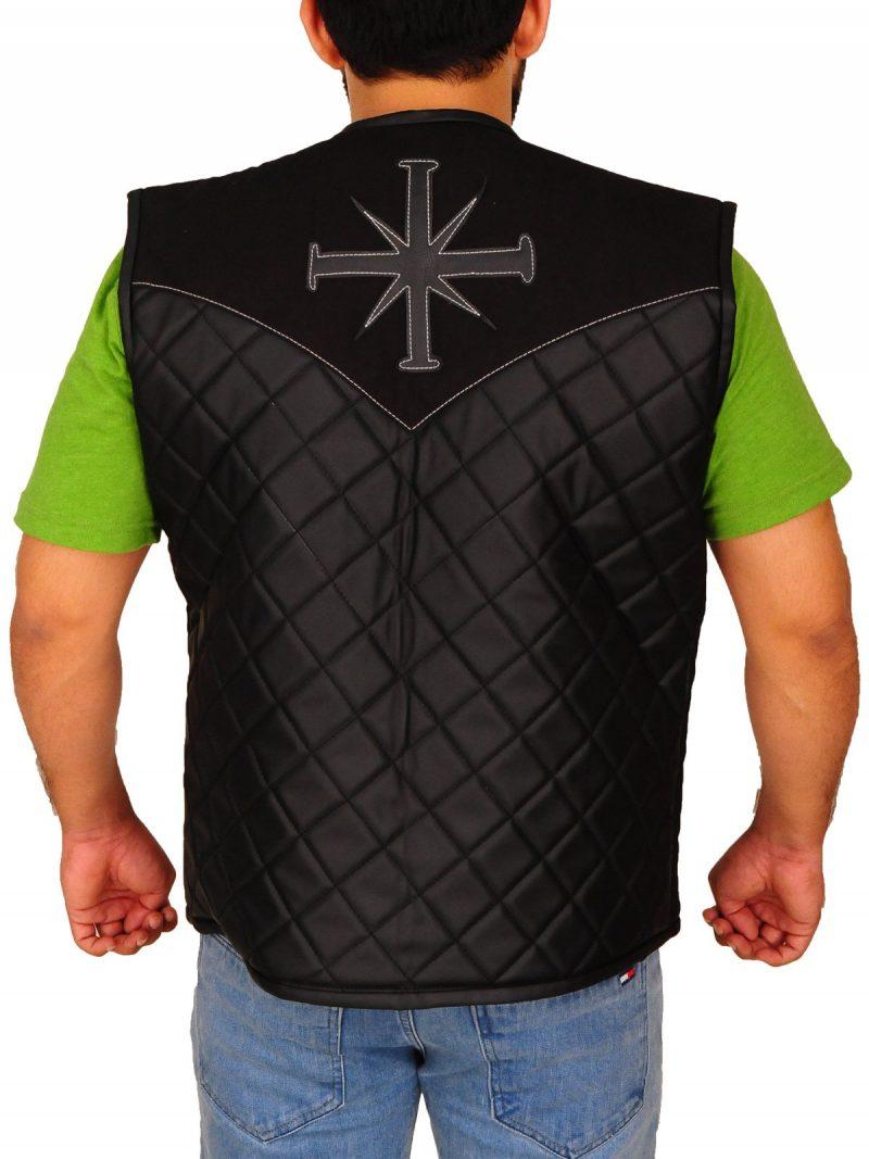 Joseph Seed Leather Vest