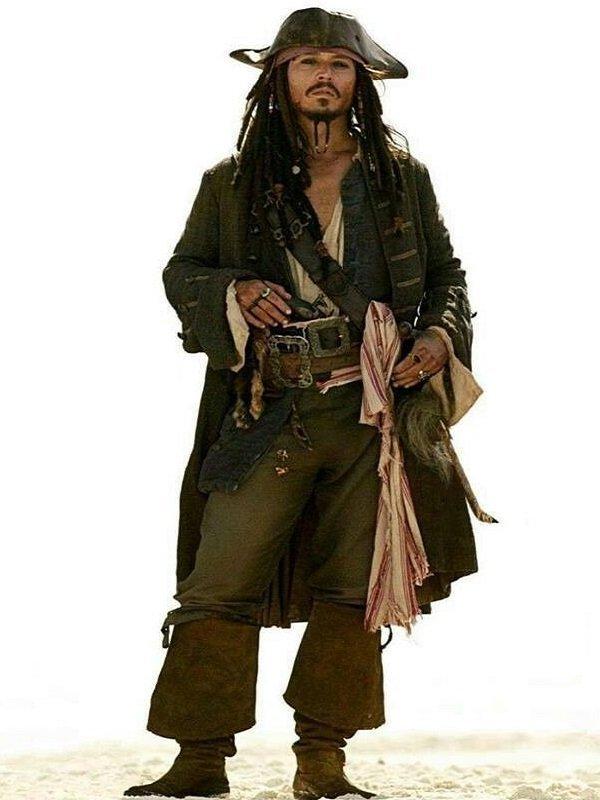 Johnny Depp Pirates Of The Caribbean Coat