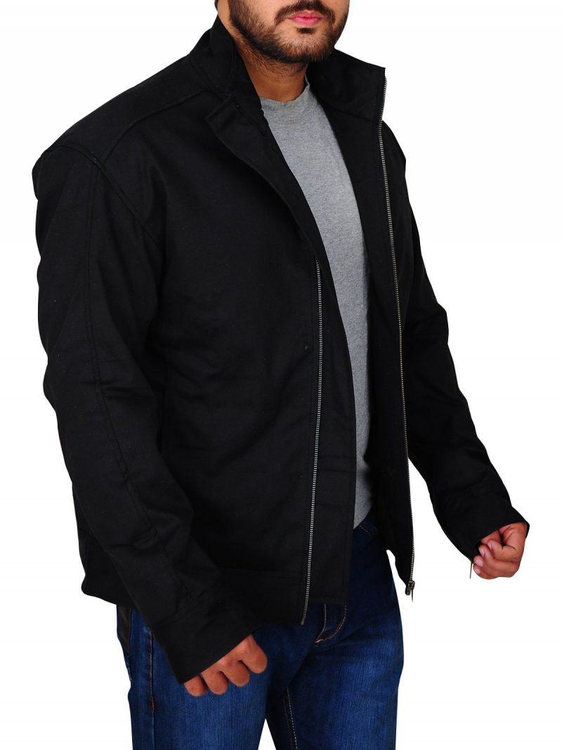 Mile 22 Stylish Mark Wahlberg Black Jacket