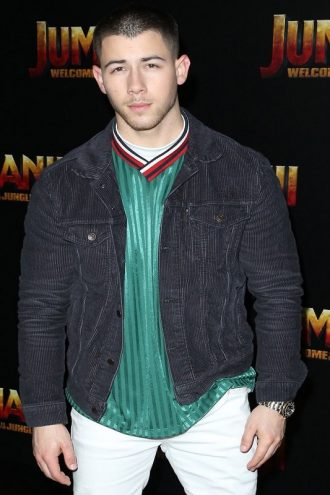 Nick Jonas Jumanji 2 Black Jacket