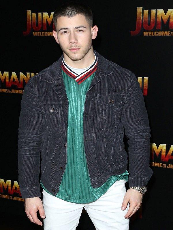 Nick Jonas Jumanji 2 Black Jacket