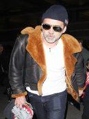 Nicolas Cage Los Angeles Airport Jacket