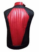 WWE Shinsuke Nakamura Red and Black Leather Vest