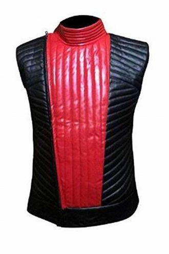 WWE Shinsuke Nakamura Red and Black Vest