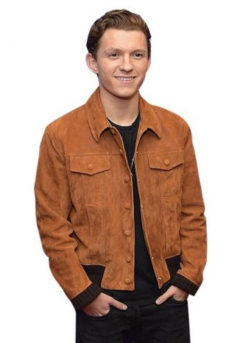 Tom Holland Classic Brown Jacket