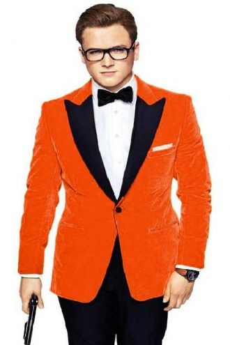 Taron Egerton Kingsman Tuxedo