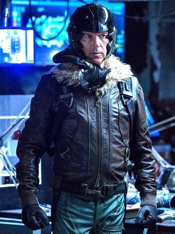 Michael Keaton Spiderman Leather Jacket