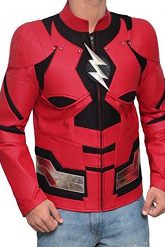 Justice League Barry Allen Flash Jacket
