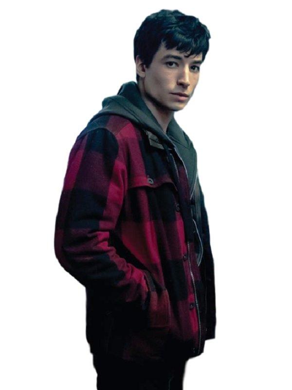 Ezra Miller Justice League Jacket