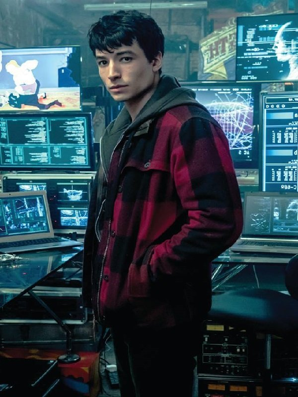 The Flash Justice League Jacket