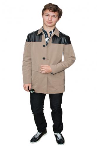 Ansel Elgort Elegant Jacket Coat
