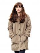 Dakota Johnson Fifty Shades Darker Stylish Coat