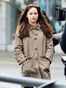 Fifty Shades Dakota Johnson Darker Stylish Coat