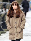 Fifty Shades Dakota Johnson Darker Elegant Coat