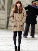 Dakota Johnson Fifty Shades Darker Elegant Coat