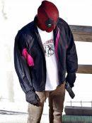 Ryan Reynolds Deadpool 2 Satin Jacket