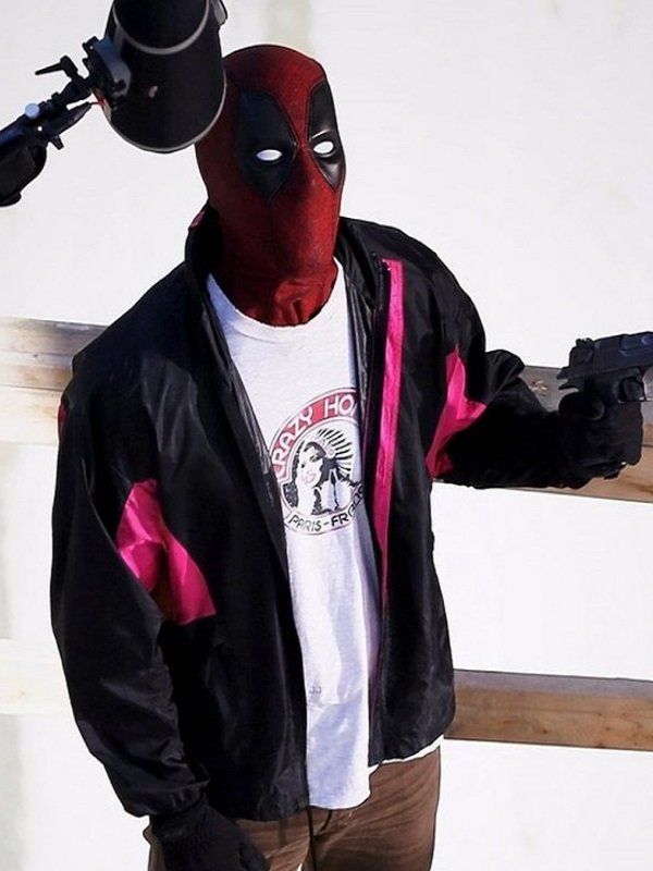 Deadpool 2 Wade Wilson Satin Track Jacket
