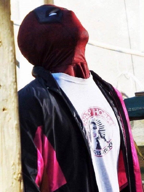 Deadpool 2 Wade Wilson Satin Jacket