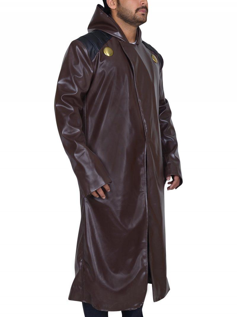 Fantastic Four Dr. Doom Leather Coat