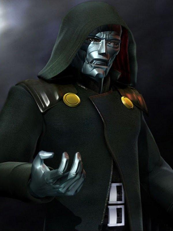 Dr. Doom Fantastic Four Coat