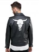 San Jose Asymmetrical Biker Leather Jacket