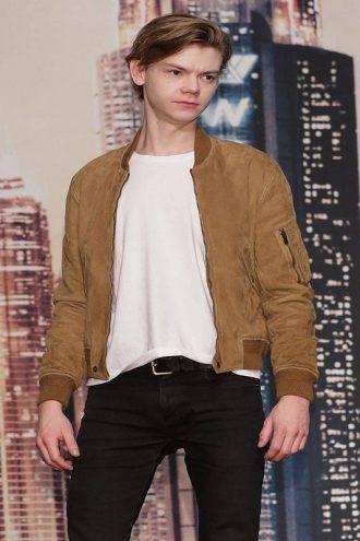 Maze Runner Newt Stylish Leather Jacket
